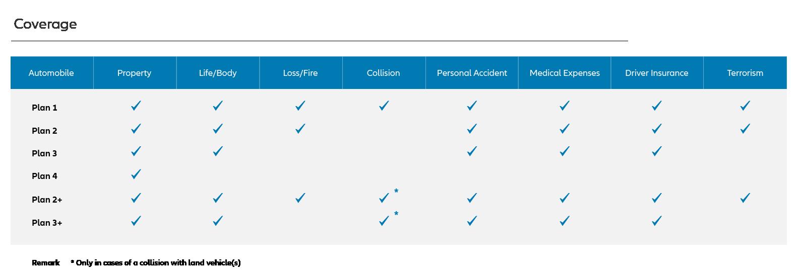 Automobile Insurance Plan
